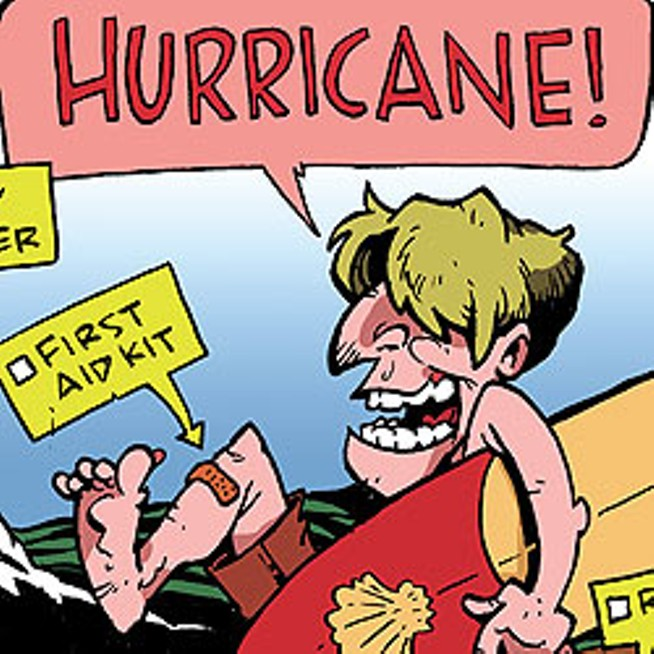 654x654 Stegelin's Weekly Cartoon Hurricane Preparedness Stegelin'S