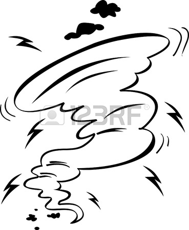 369x450 Coloring Illustration Of Hurricane Royalty Free Cliparts, Vectors