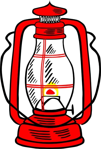 408x600 Red Hurricane Lamp Clip Art Free Vector In Open Office Drawing Svg