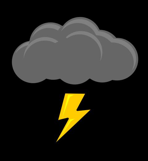 479x519 Storm Clipart Vector