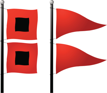 444x386 Flag Red Clipart