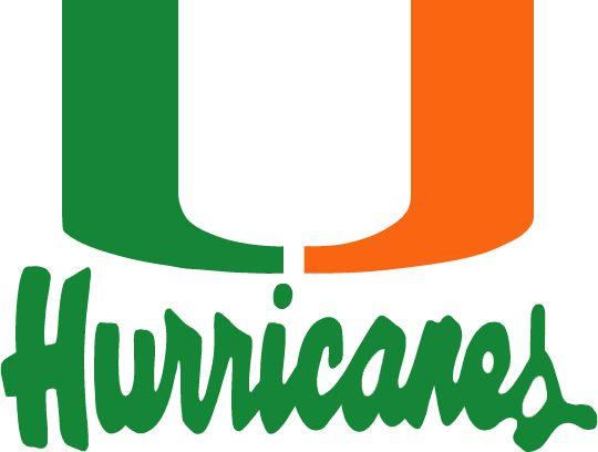 540x408 Miami Hurricane Logo Clip Art