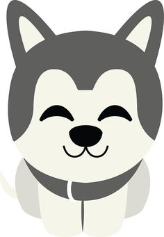 236x341 Siberian Husky Emoji Sleepy And Zzz Look Stickers