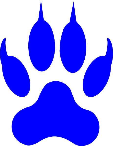 462x594 Cougar Paw Clipart
