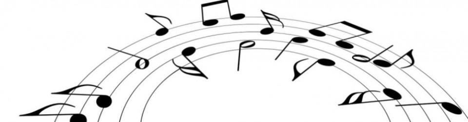 960x250 Music Clipart Hymns
