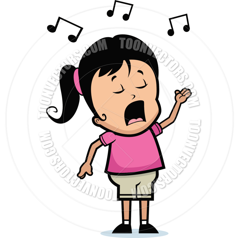940x940 Girl Singing Clipart Images