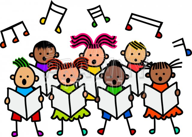 640x456 Singer Clipart Group Singing