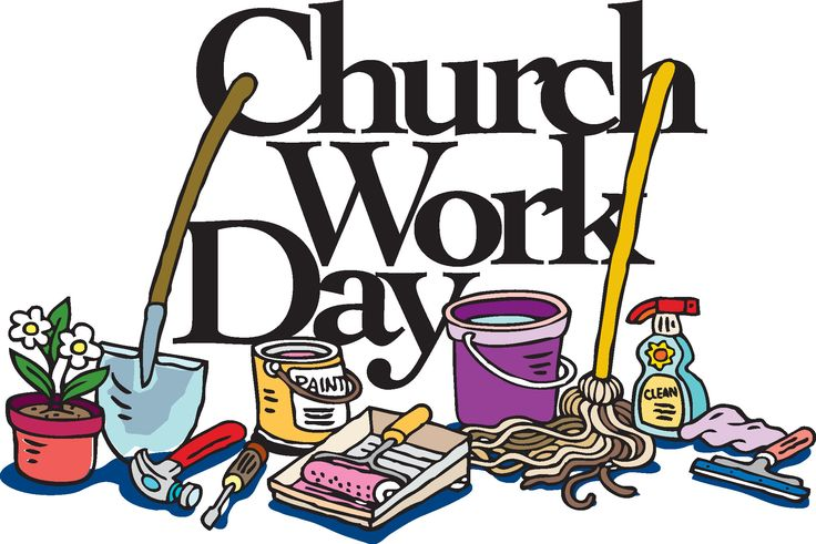 736x491 Church Work Day Clip Art