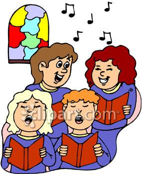 285x350 Singer Clipart Choir