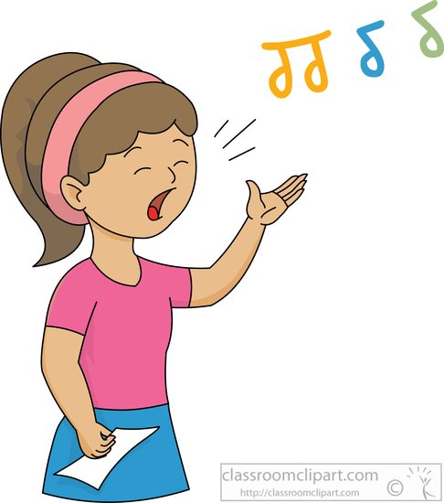 486x550 Song Clipart Singing Contest