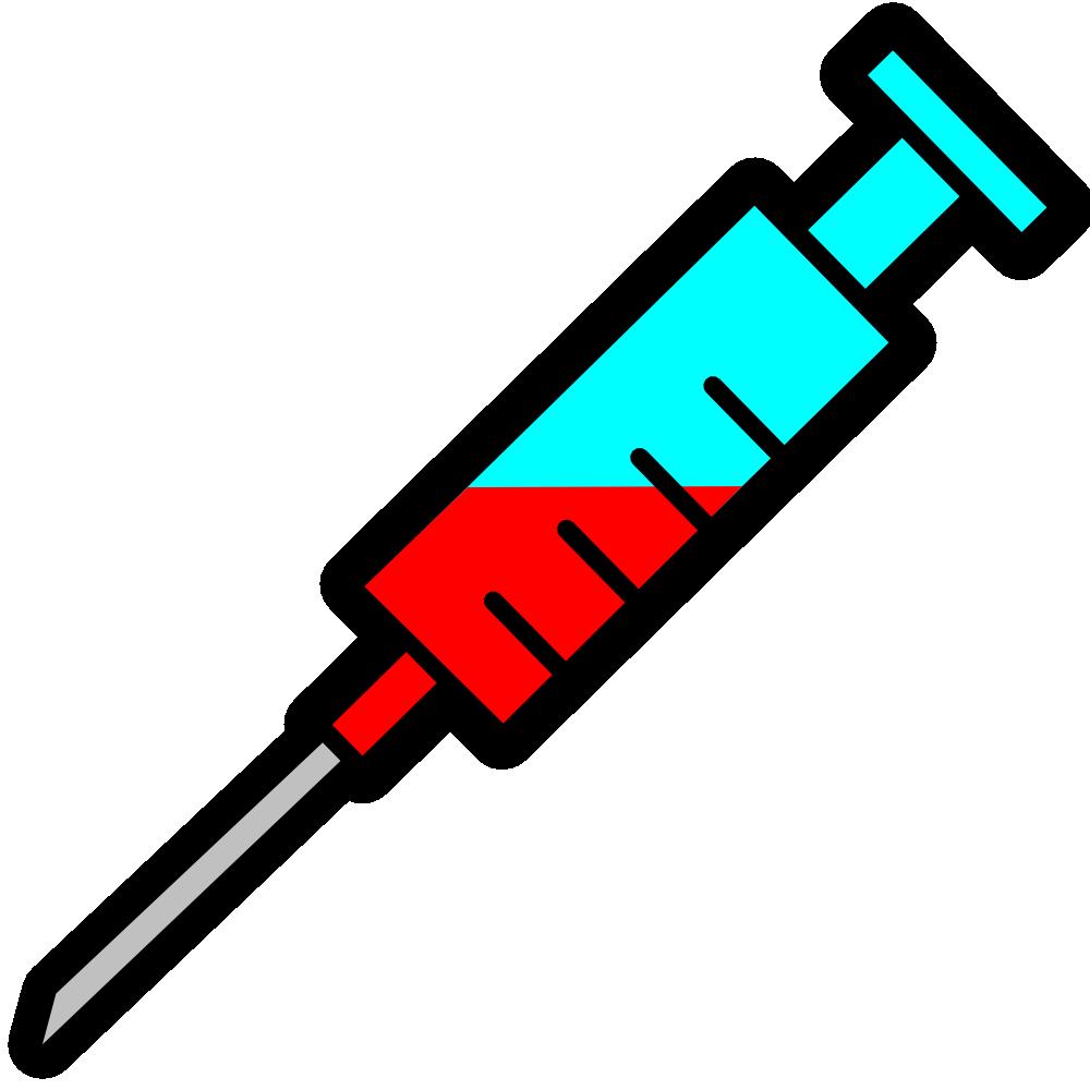 1000x1000 Syringe Clipart Needle