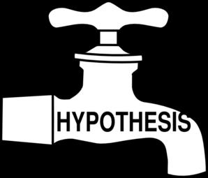 298x255 Hypothesis Tap Clip Art