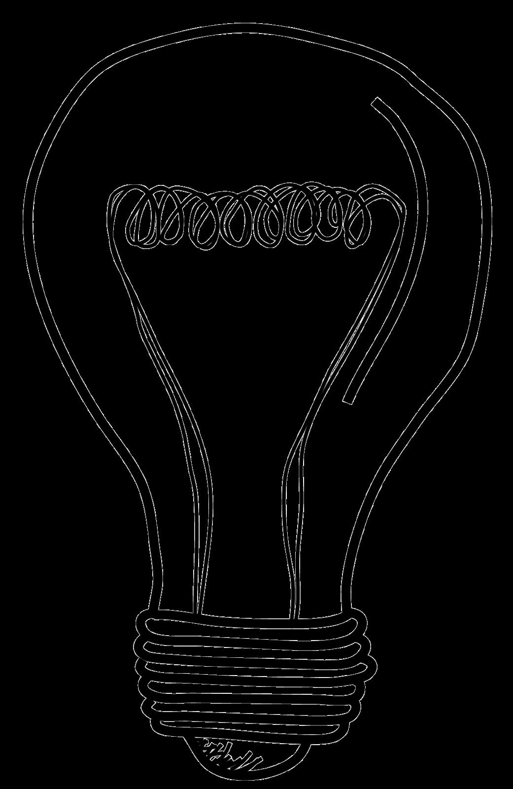 1041x1600 Light Bulb Clip Art Lightbulb Acoloring Clipartix 3