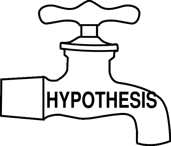 600x513 Hypothesis Tap Clip Art