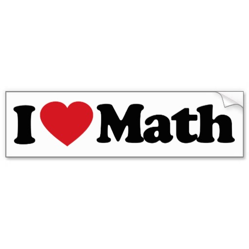512x512 Mathematics Clipart I Love