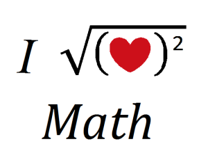I Love Math Pictures