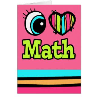324x324 I Love Math Greeting Cards Zazzle