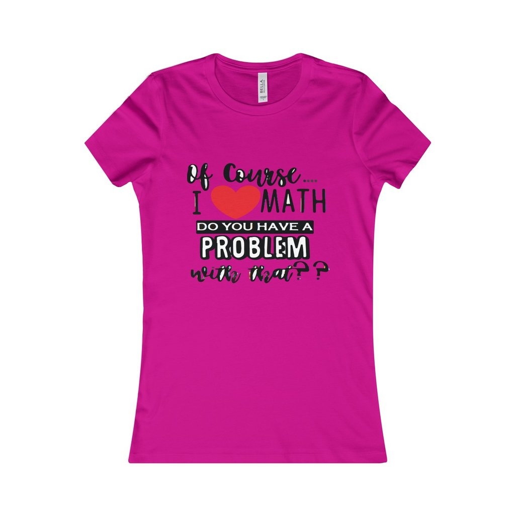 1024x1024 I Love Math Tshirt Fortysix And Five
