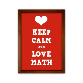 280x280 Keep Calm And Love Math