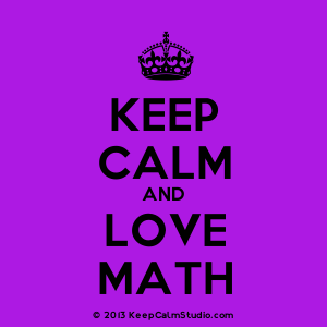 300x300 Keep Calm And Love Math' Design On T Shirt, Poster, Mug And Many