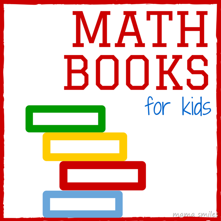 768x768 Math Books Kids Will Love