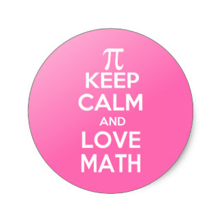 324x324 Pi Keep Calm Love Math Gifts