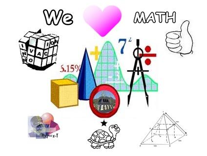 424x320 We Love Math Clipart
