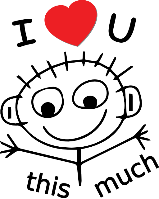512x639 I Love You Love You Clip Art Free Clipart