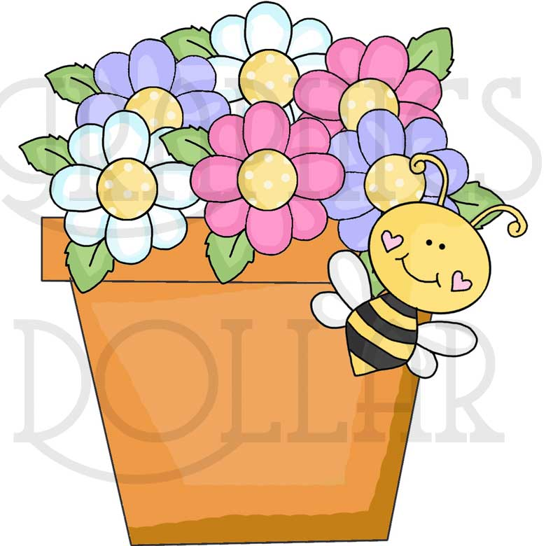 780x780 Bee Cause I Love You Clip Art