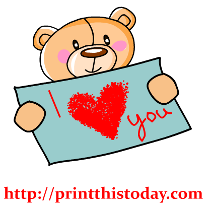 417x417 Love You Clipart