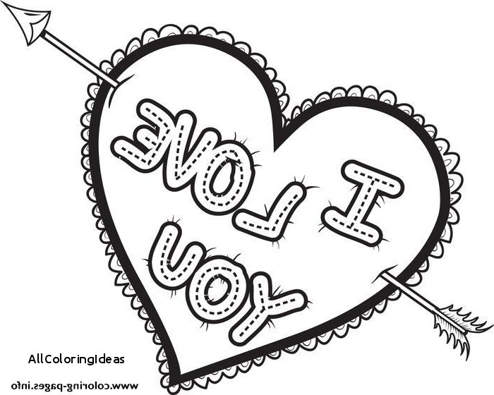700x560 Free I Love You Coloring Pages