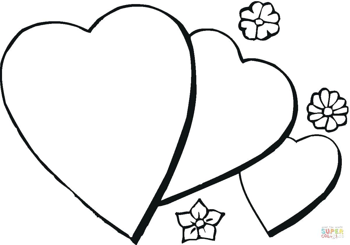 1200x841 Heart For My Mom Coloring Page I Love You Pages Printable U I Love