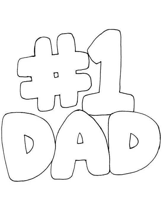 550x713 I Love Dad Coloring Pages