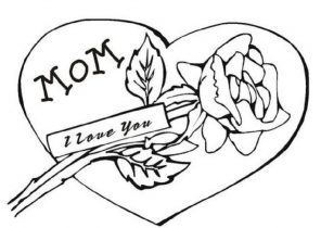 296x210 I Love You Coloring Pages