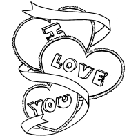 200x200 I Love You Coloring Pages Simple I Love You Coloring Pages