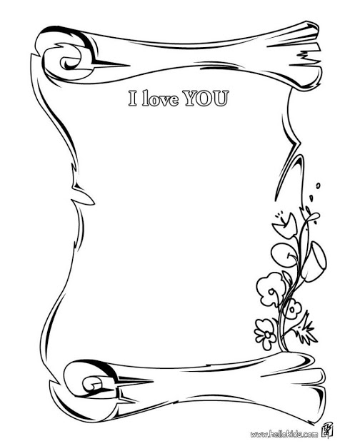 483x625 Best Hd I Love You Babe Coloring Pages Image