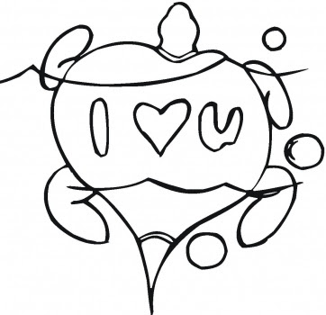 362x350 Paolomacca I Love You Coloring Pages