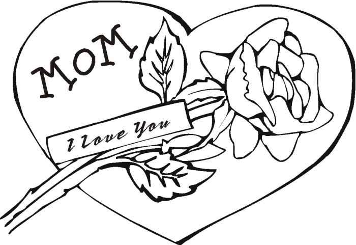 700x481 Coloring Pages For Mom Captures Divine Love You Page