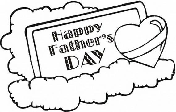 570x363 Daddy Coloring Pages For Kids On Father's Day