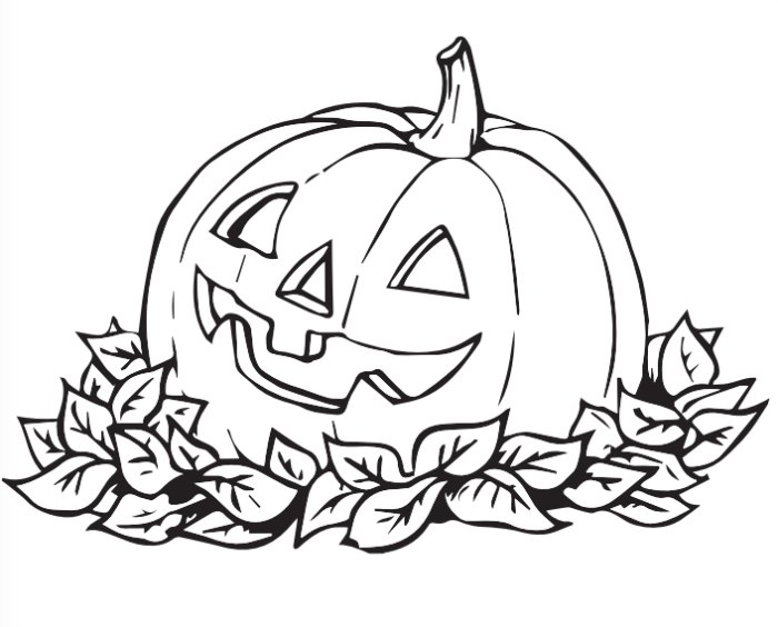 700x564 200 free halloween coloring pages for kids - Free Pumpkin Coloring Pages Printable 2