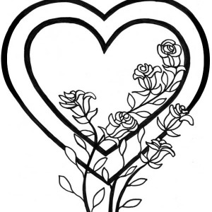 mom and son coloring pages hearts images | I Love You Mom Coloring Pages | Free download best I Love ...