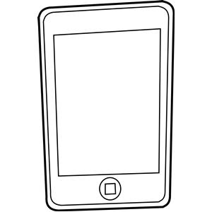 300x300 Iphone Clip Art Clipart Panda