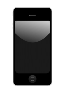 212x300 Iphone Clipart Smartphone