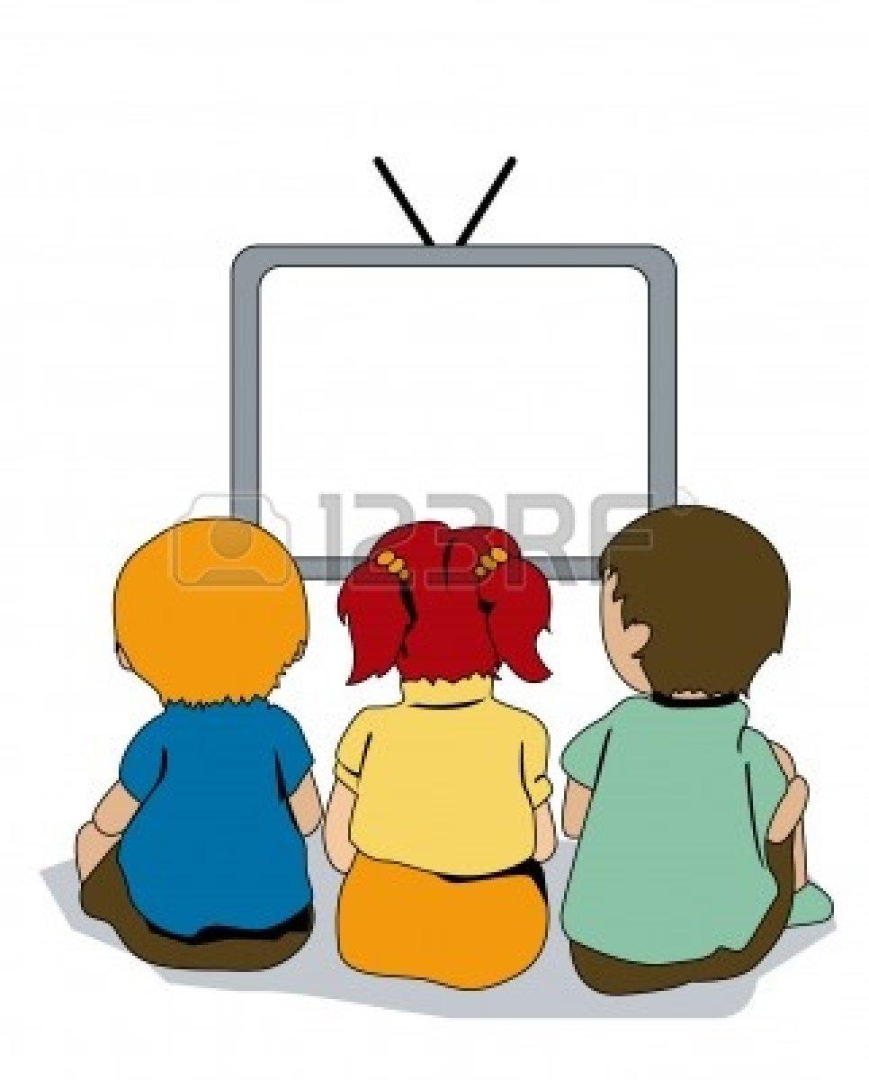 966x1200 Watch Tv Clipart