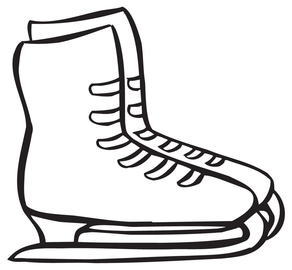 1000x924 Ice Skate Clip Art