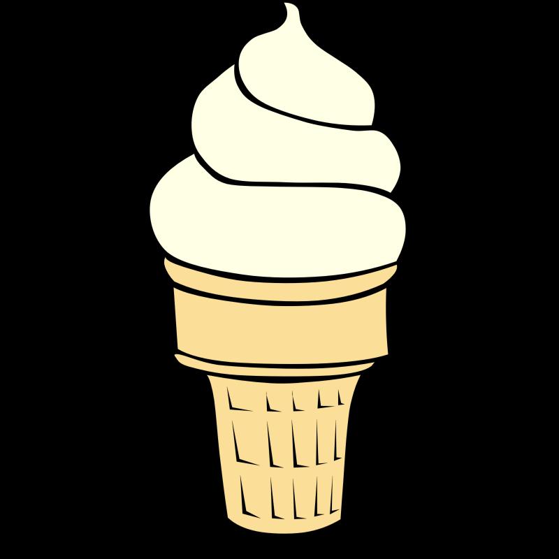 800x800 Ice Cream Cone Ice Creamne Clip Art Summer Clipart Ice Image 3 4