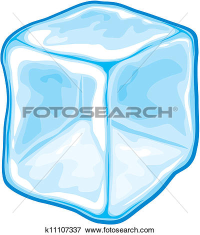 400x470 Clip Art Of Ice Clipart