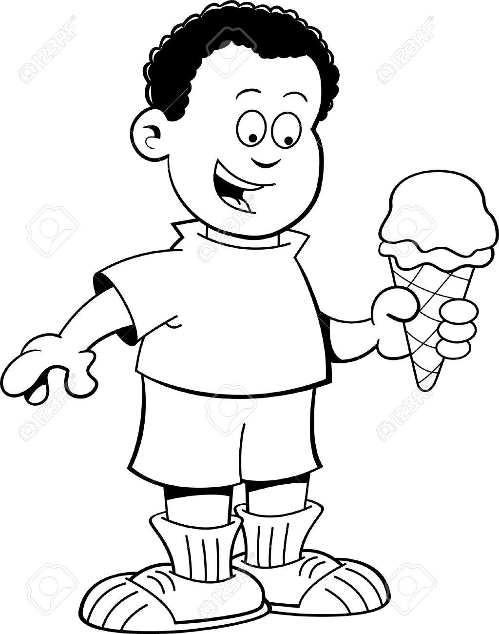 1024x1300 Best Ice Cream Clipart Black And White