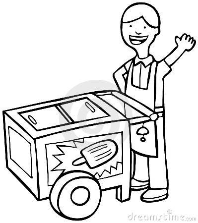 399x450 Cart Clipart Black And White