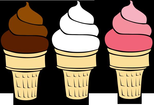 600x412 Ice Cream Border Clipart
